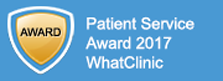 WhatClinic customer service award 2015
